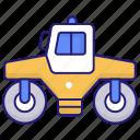asphalt, compactor, paver, roller