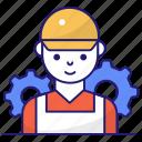 builder, man, worker