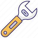 building, construction, industry, wrench