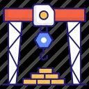 crane, technology, construction