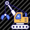 crane, hammer, loader, rotary, skid, wheel
