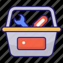 kit, toolbox, toolkit
