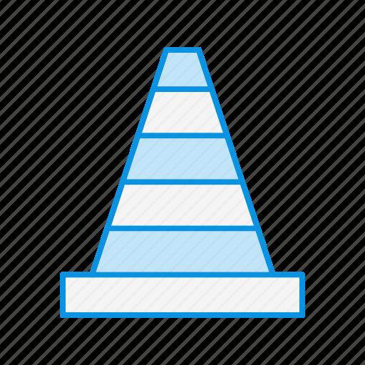 cone, dessert, traffic icon