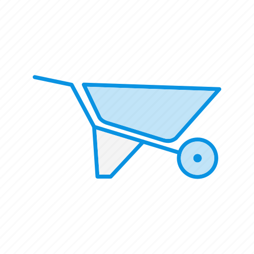 Barrow, construction, wheel icon - Download on Iconfinder