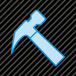 construction, hammer, repair icon