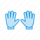 glove, gloves, hand, winter icon