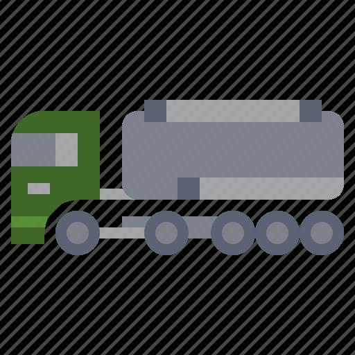 bulldozer, car, construction, fuel, industry, transportation, truck icon