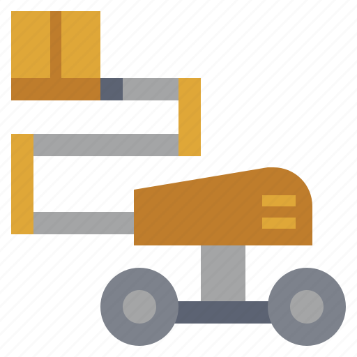 bulldozer, car, construction, industry, telescopic, transportation, truck icon