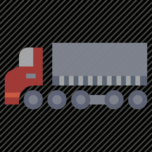 bulldozer, car, construction, industry, transport, transportation, truck icon