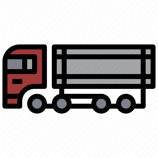 bulldozer, car, construction, container, industry, transportation, truck icon