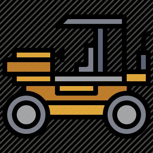 car, construction, pneumatic, roller, transportation, truck, tyre icon