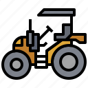 bulldozer, car, construction, industry, tarctor, transportation, truck icon