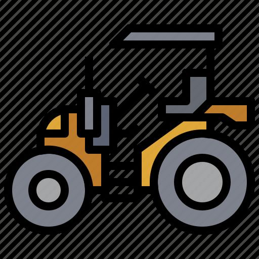 bulldozer, car, construction, industry, tarctor, transportation, truck icon