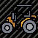 bulldozer, car, construction, industry, trailer, transportation, truck