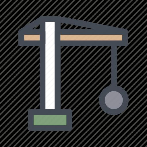 construction, crane, edit, real, repair icon