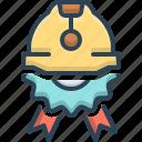 badge, construction, construction badge, innovation, reconstruction