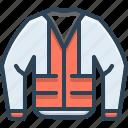 construction, construction jacket, fluorescent, jacket, protection, safety