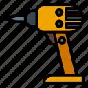 building, construction, drill, equipment, machine, tools