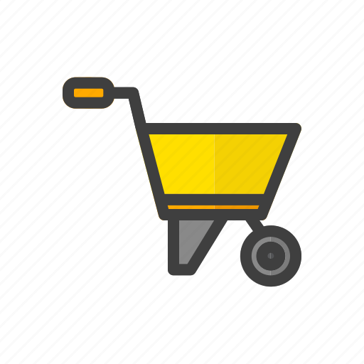 build, construction, tool, trolley, work icon