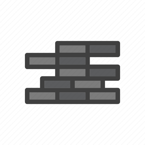 brick, build, construction, tool, wall, work icon