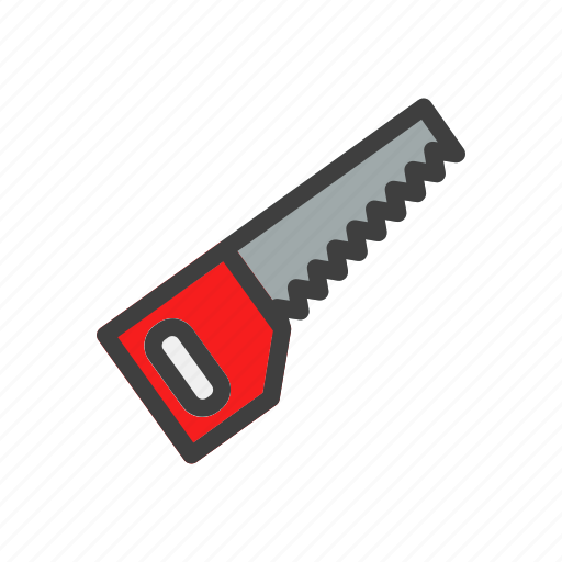 build, construction, saw, tool, work icon