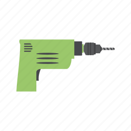 dig, drill, drilling, machine, work icon