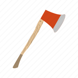 axe, cut, cutting, tools, weapon icon