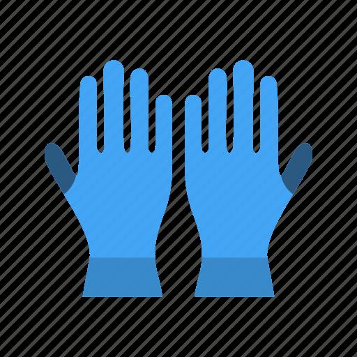 gloves, work, working gloves icon