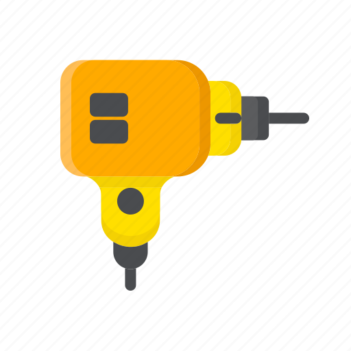 build, construction, drill, tool, wimble, work icon