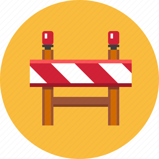 caution, construction barrier, repair, safety, traffic, under construction, warning icon