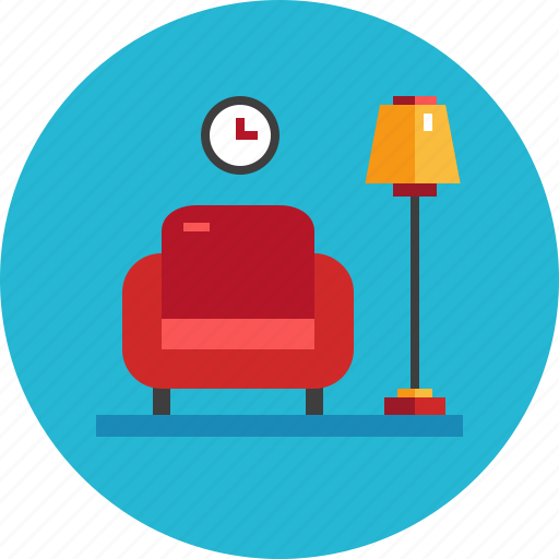 Armchair, comfortable, furniture, home, interior ...