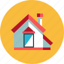 estate, home, house, housing, property, residence, resident icon