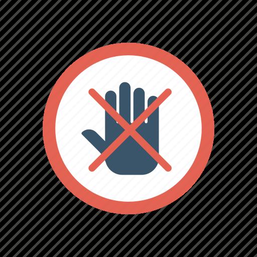 ban, block, board, stop icon