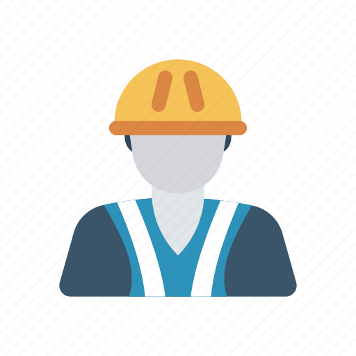 constructor, engineer, man, worker icon