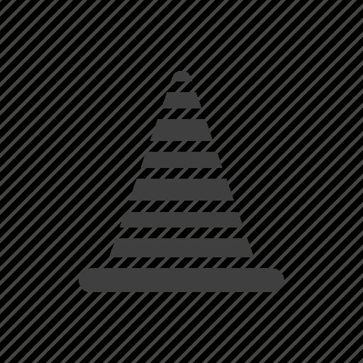 build, cones, construction, tool icon