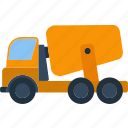 auto, blender, build, business, button, car, cargo, cement, color, concrete, construction, deliver, delivery, design, drive, dump, engineering, equipment, flat, heavy, icon, illustration, industrial, industry, isolated, large, load, logo, lorry, machine, machinery, mining, mixer, motor, power, road, shipping, single, steel, technology, tool, trailer, transport, transportation, truck, ui, vector, vehicle, wheel, work icon