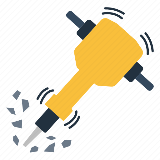 atmosphere, break, breaker, build, builder, chisel, color, compressed, concept, concrete, construction, crack, demolition, design, destroy, destruction, dig, drill, element, emblem, equipment, flat, hammer, heavy, hydraulic, icon, illustration, industrial, jack, jackhammer, minimal, object, pneumatic, portable, power, powerful, pressure, pressured, repair, road, sign, single, symbol, tool, ui, vector, vibrate, vibration, work, worker icon