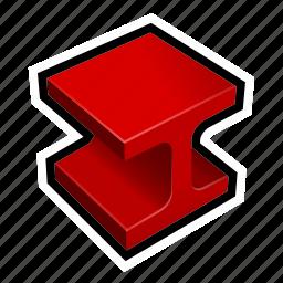 build, construction, girder, house, tile icon