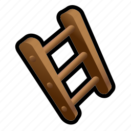 construction, house, ladder icon