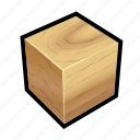 construction, cube, ground, oak, wall, wood