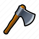 axe, cut, jack, lumber, tool, tree, wood icon