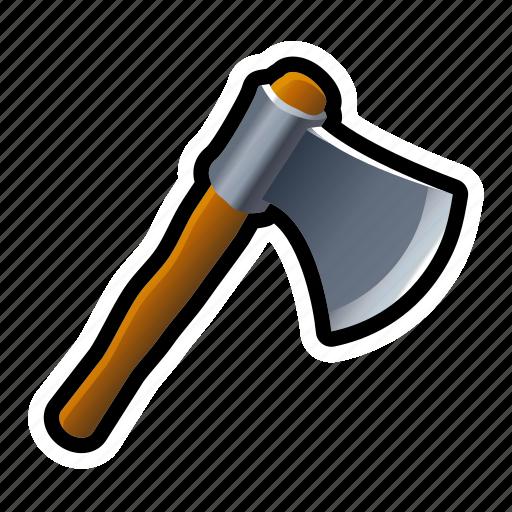 axe, cut, jack, lumber, tool, tree, wood icon