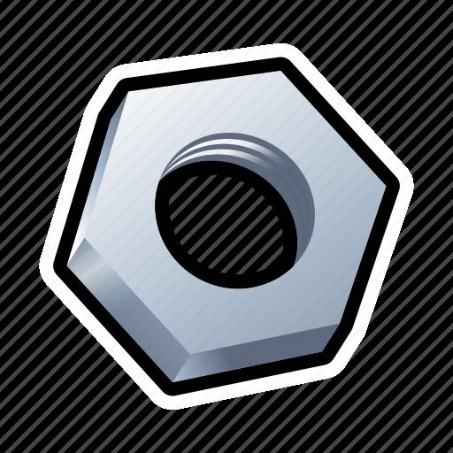 car, nut, screw, settings, tool icon