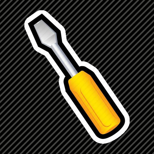 adjust, bolt, car, repair, screwdriver, settings, tool icon