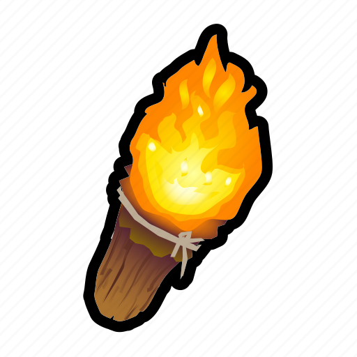 Fire, light, tool, torch, lantern icon