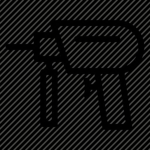 drill, drillpress, machine, powerdrill icon