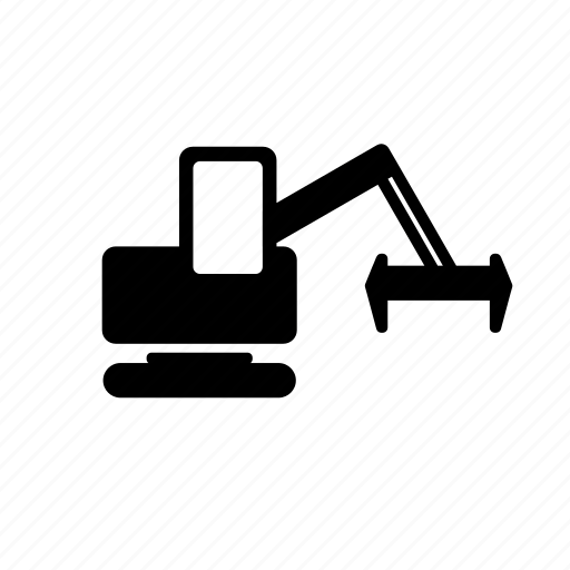 building, construction, excavators, industry, machine icon