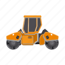 construction, equipment, machinery, rink, transport icon