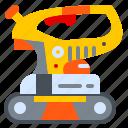 belt, machine, sander, tool icon