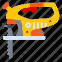 construction, jig, jigsaw, machine, saw, tool